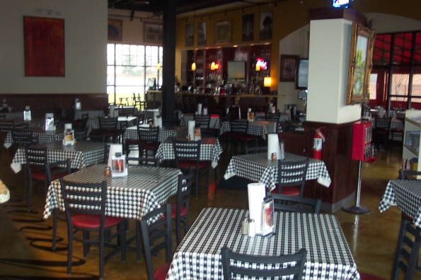 Marino s philly pizzeria bar ballantyne charlotte nc for Dining room equipment